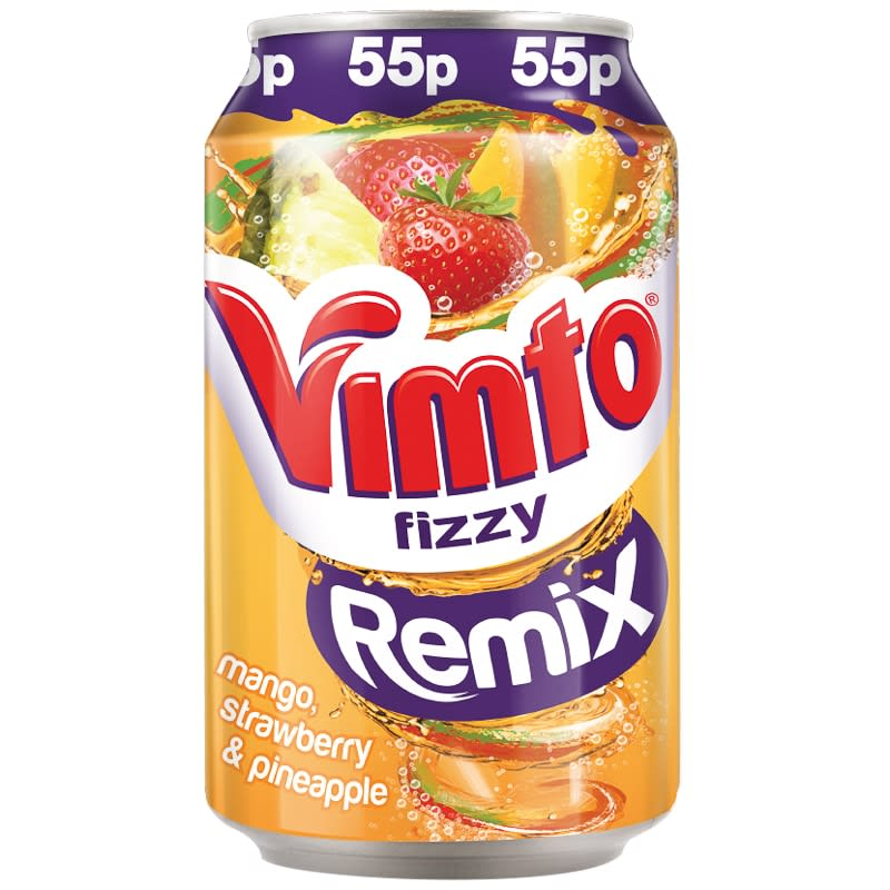 Vimto Fizzy Remix Can 330ml Soft Drinks BampM Stores