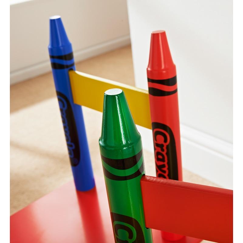 Crayola Kids Table Amp Chairs Set 3pc Kids Furniture BampM