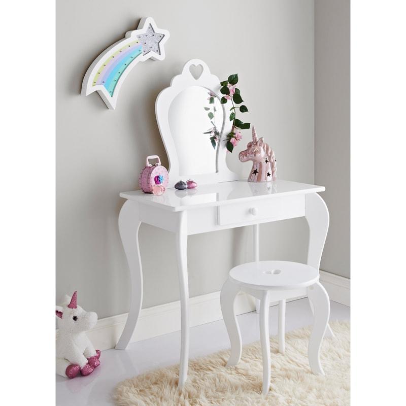 Amelia Vanity Set With Stool Amp Mirror Childrens