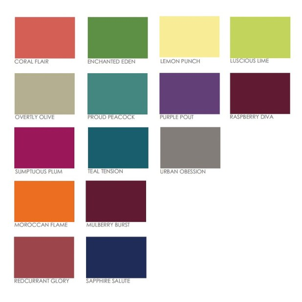 Dulux interior paint chart for Paint charts for kitchens