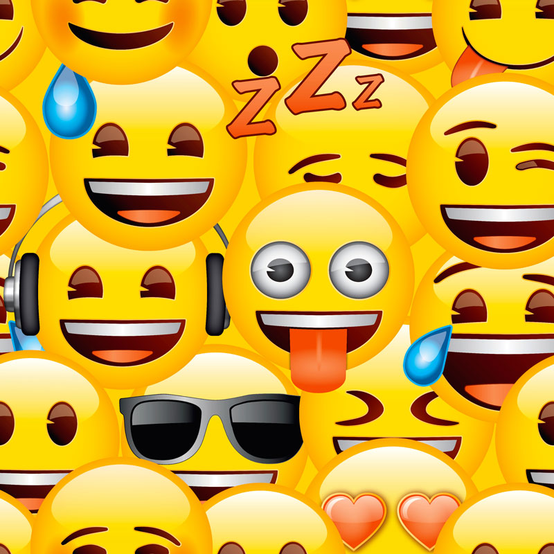 Debona Emoji Wallpaper Kids Wallpaper Decorating BampM