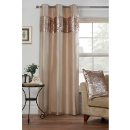 Ombre Crushed Velvet Panel 54 X 86 Curtains BampM