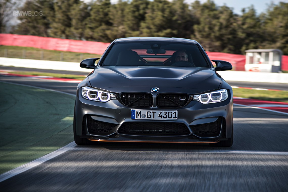 2018 bmw m5 and m4 gts together on the nurburgring