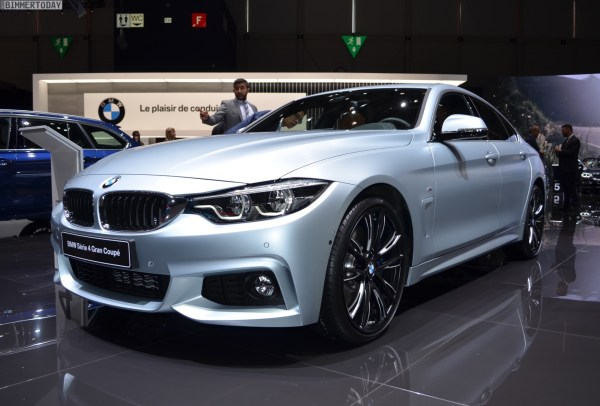 2017 BMW 4 Series Gran Coupe Facelift as 440i in Frozen ...