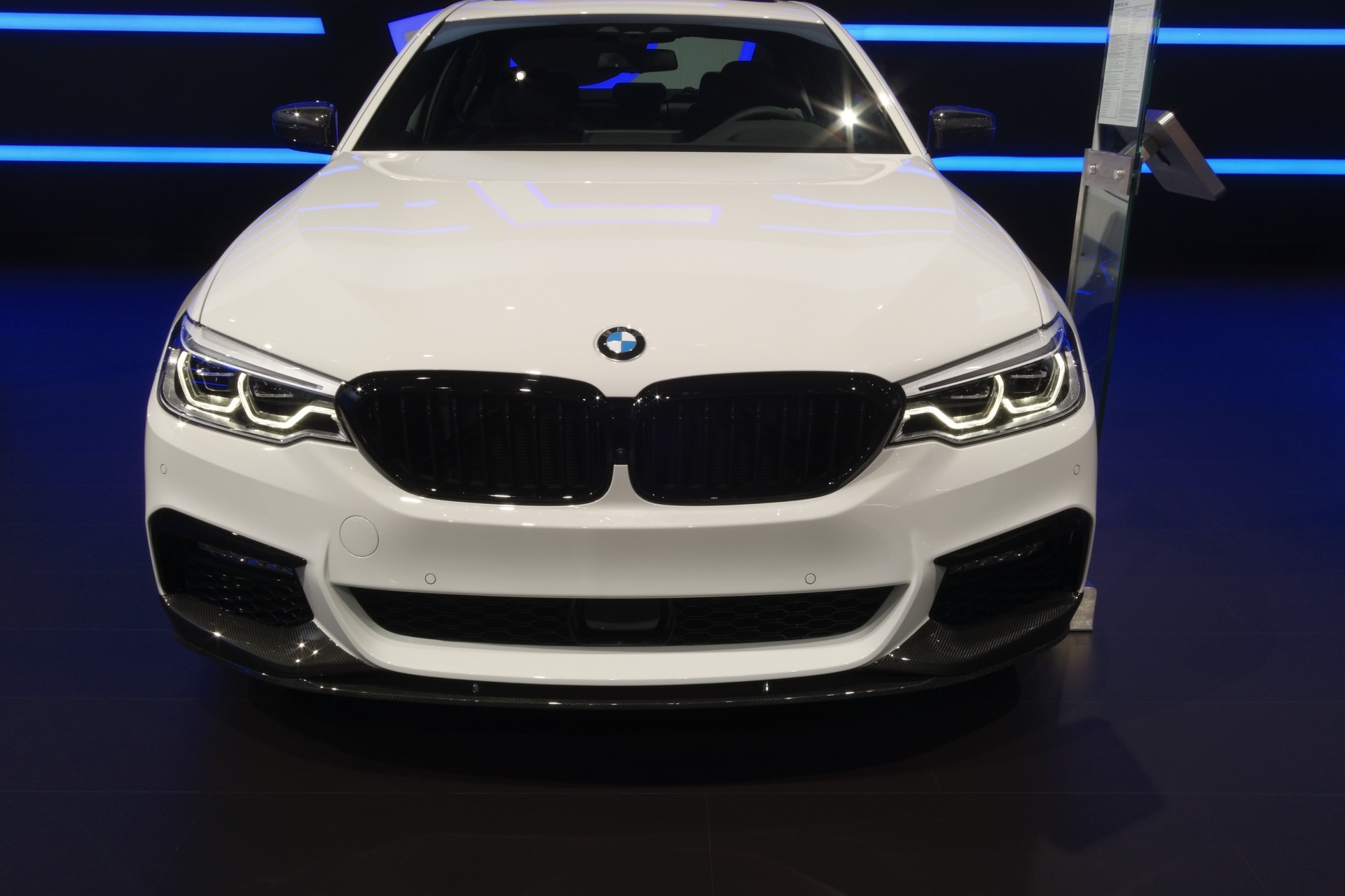 New York Auto Show Bmw 540i Wearing M Performance Parts