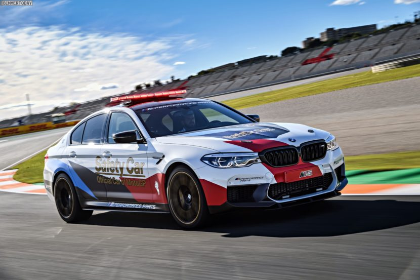 BMW M5 Safety Car 2017 MotoGP Valencia F90 19 830x553