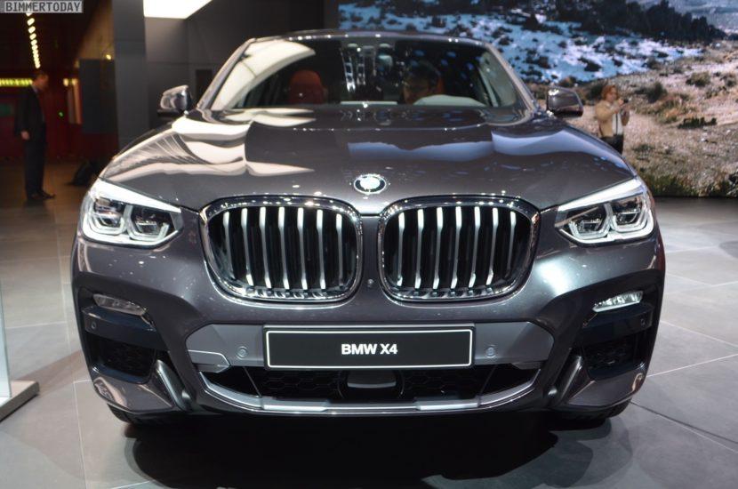 Genf 2018 BMW X4 G02 xDrive30i M Sport X Sophistograu Live 05 830x550