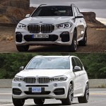 Photo Comparison F15 Bmw X5 Vs G05 Bmw X5