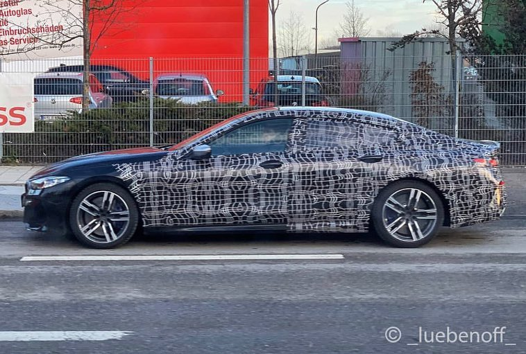 Bmw 8 Series Gran Coupe Drops Some Camo In New Spy Shots Website
