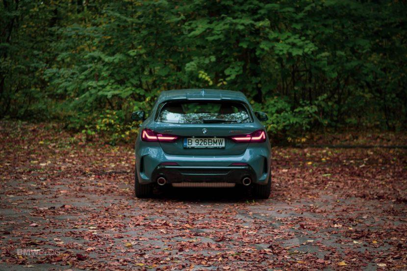 2019 BMW M135i xDrive Review 38 830x553