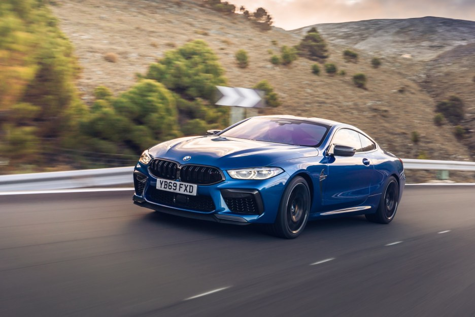 The new BMW M8 Competition Models UK 48