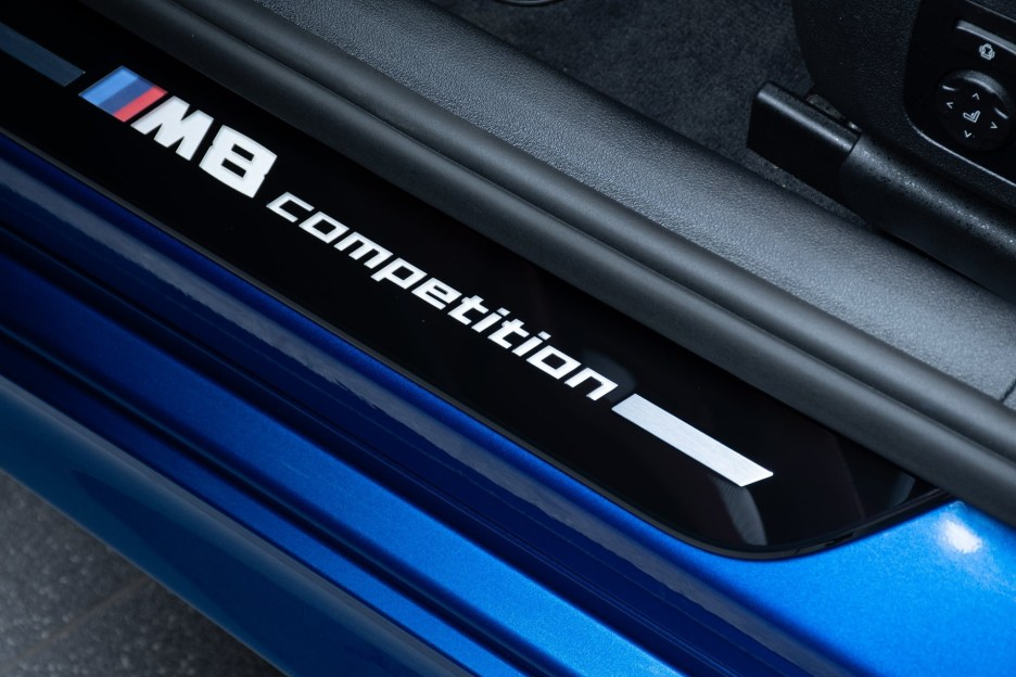 BMW M8 Competition Gran Coupe F93 featured in Sonic Speed Blue 18