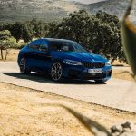 Bmw M5 Competition Finished In The Special Le Mans Blue Color