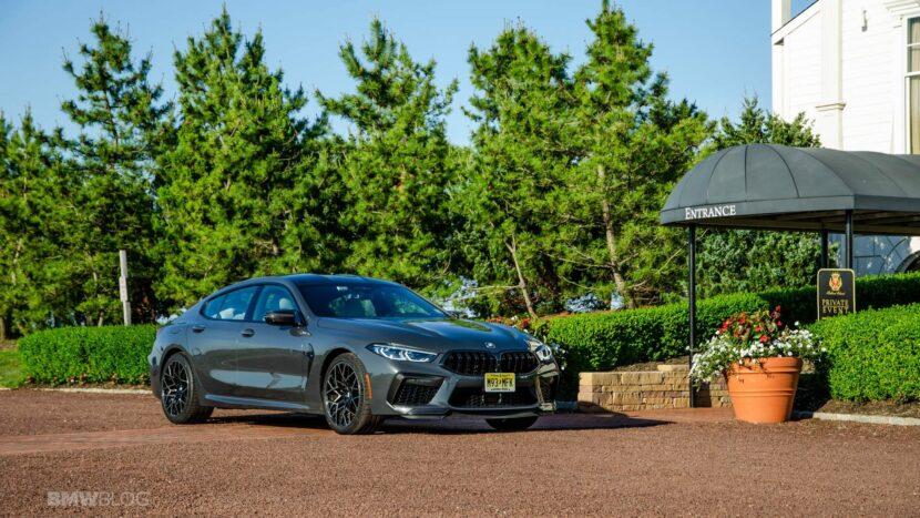 2021 BMW M8 Gran Coupe test drive 04 830x467
