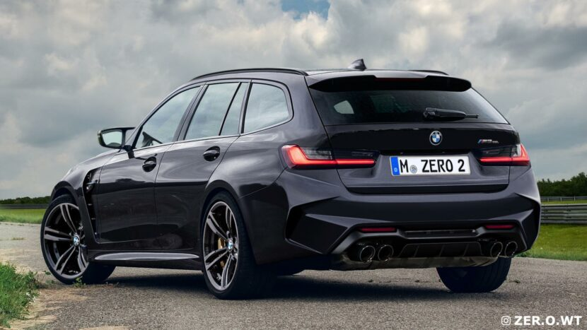 BMW M3 Touring photoshop 01 830x467