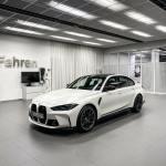 2021 Bmw M3 Sedan Shows Up In Frozen Brilliant White Color