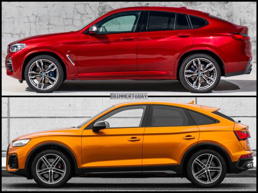 Audi SQ5 Sportback TDI BMW X4 M40d 5 830x622