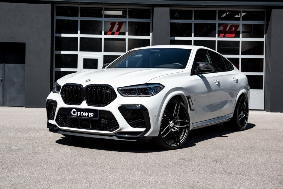 bmw x6 m tuning g power 1