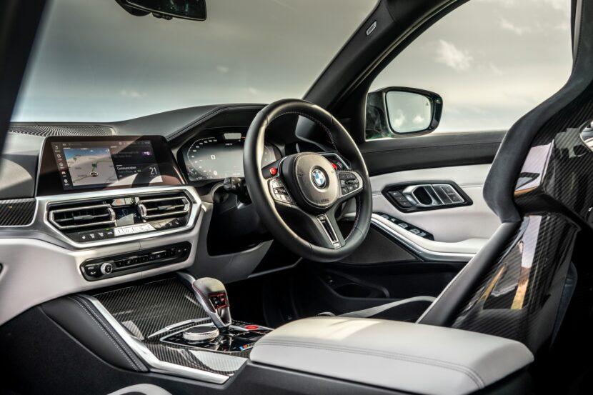 The New BMW M3 Competition Sedan UK 44 830x553