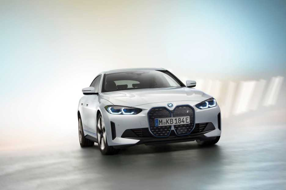 P90417929 first view on the upcoming bmw i4 pre production model shown 3 2021 2250px