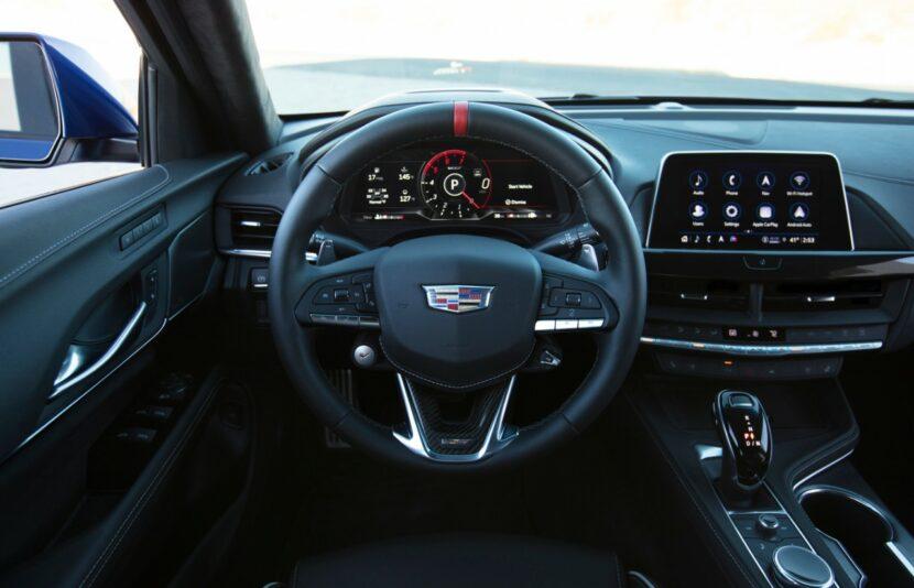 2022 Cadillac CT4 V Blackwing 010 830x534