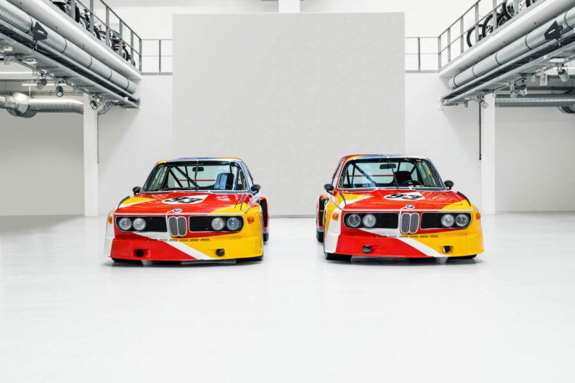 Alexander Calder Art Car BMW 3.0 CSL 37 of 55 830x553