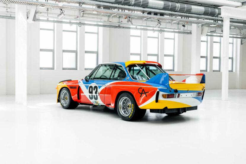 Alexander Calder Art Car BMW 3.0 CSL 51 of 55 830x553