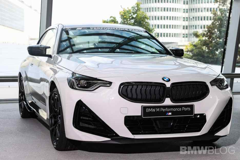 g42 bmw 2 series coupe m performance parts 00