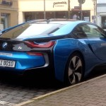 Spotted Bmw I8 In Protonic Blue