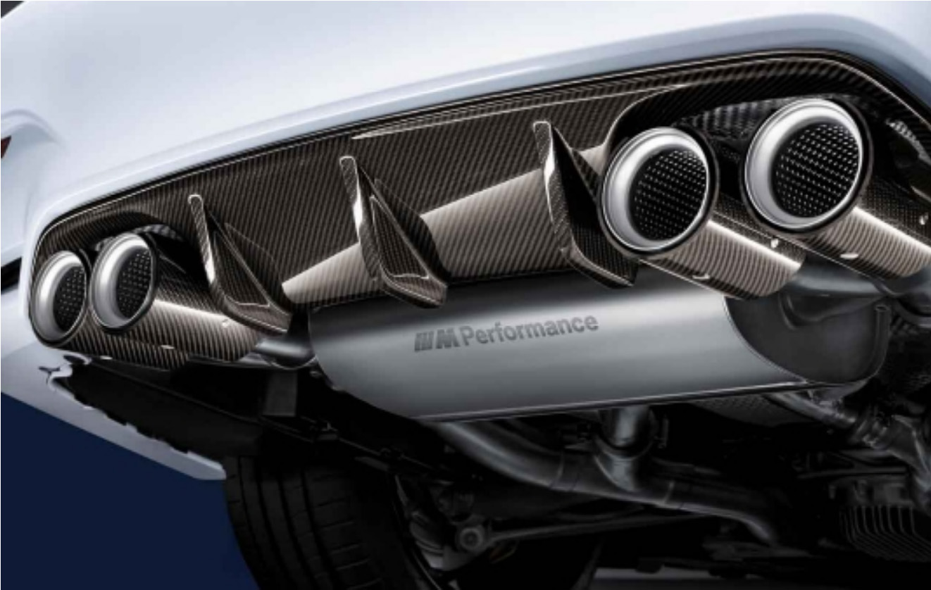 bmw m performance exhaust system for
