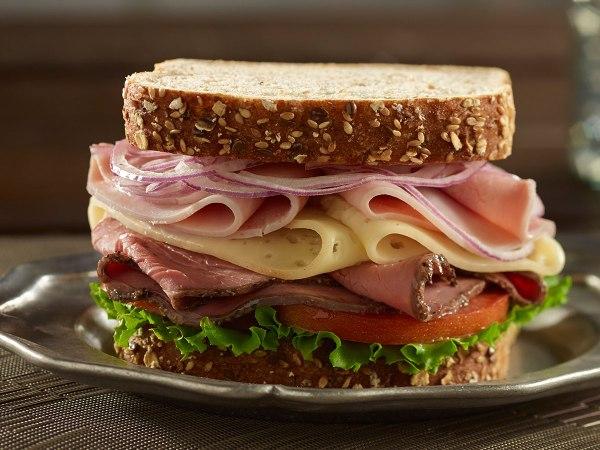 Deluxe Low Sodium Roast Beef Sandwich Recipe Boar39s Head