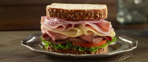 Deluxe Low Sodium Roast Beef Sandwich Boar39s Head