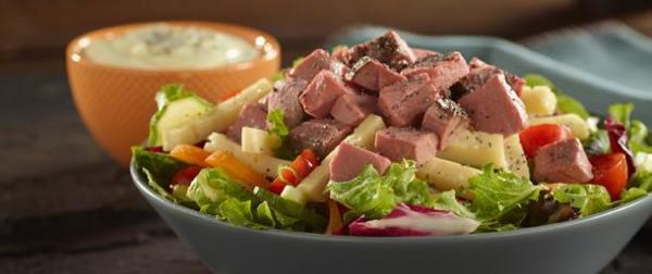 Deluxe Low Sodium Roast Beef Poppy Seed Salad Boar39s Head