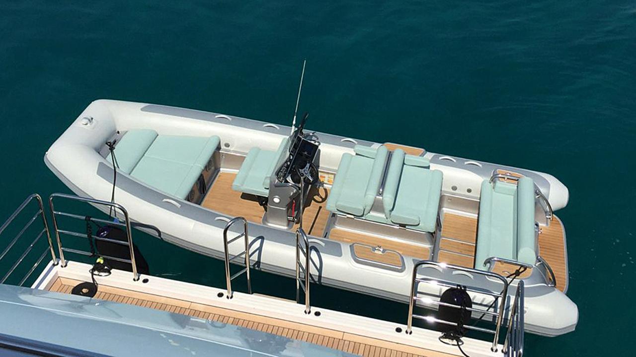 Eddie Jordan Takes Delivery Of New Superyacht Tender