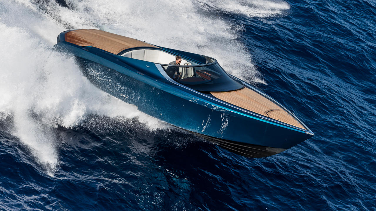 Aston Martin AM37S The Boat That Thinks Its A Car Boat