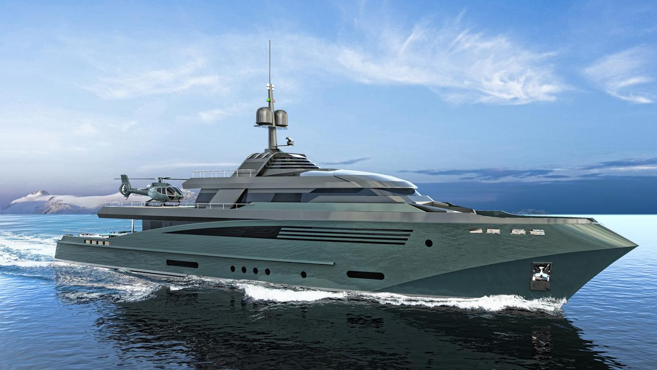 Moby Dick Inspired 56m Explorer Yacht Concept Queequeg