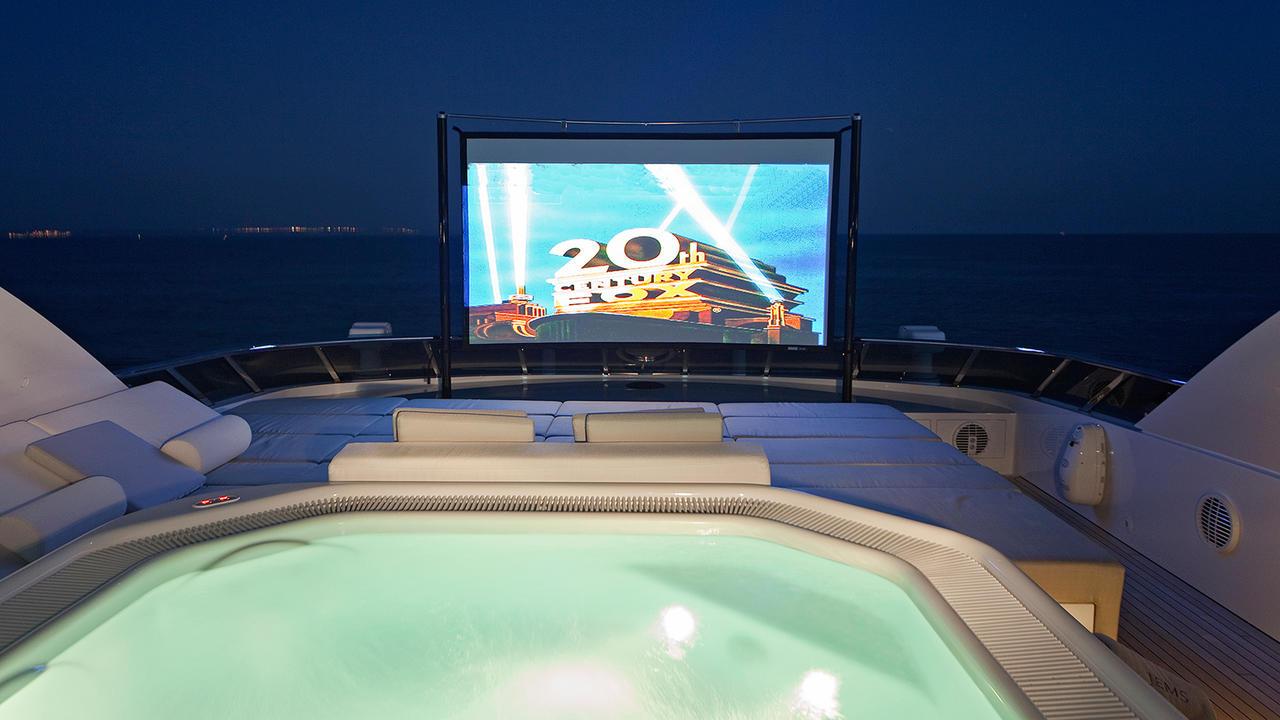 The Best Outdoor Cinemas On Luxury Yachts Boat International