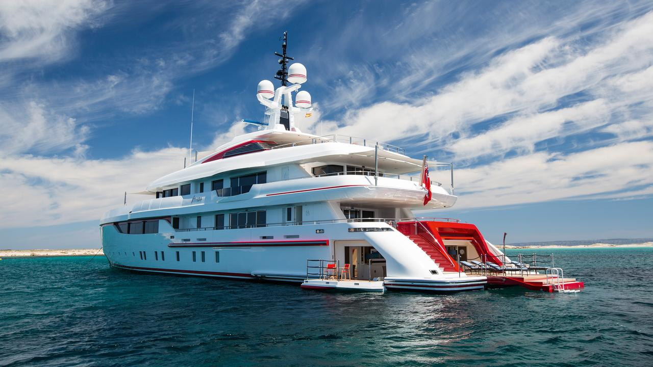 Forever One ISAs Bright And Chic Yacht Designed To Stand