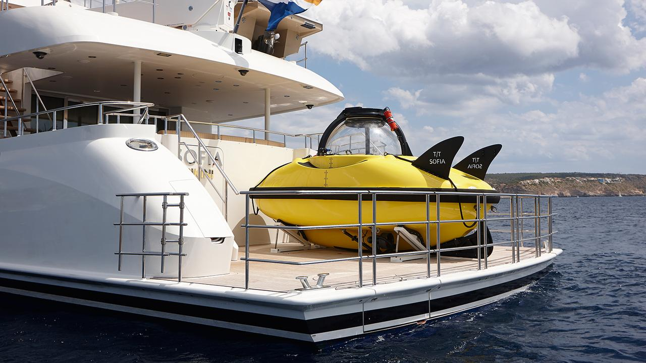 The Best Six Superyachts With Submarines Boat International