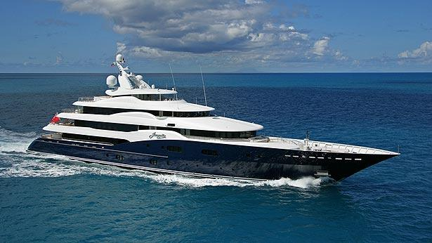A First Glimpse Inside Superyacht Amaryllis Now For