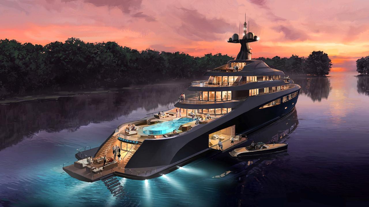 Nobiskrug Shines With New 110m Superyacht Concept Radiance