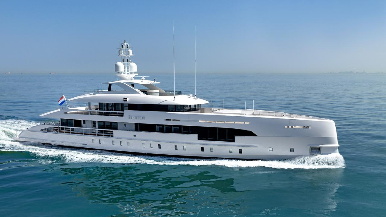Heesen Delivers 49 Metre Hybrid Yacht Home Boat