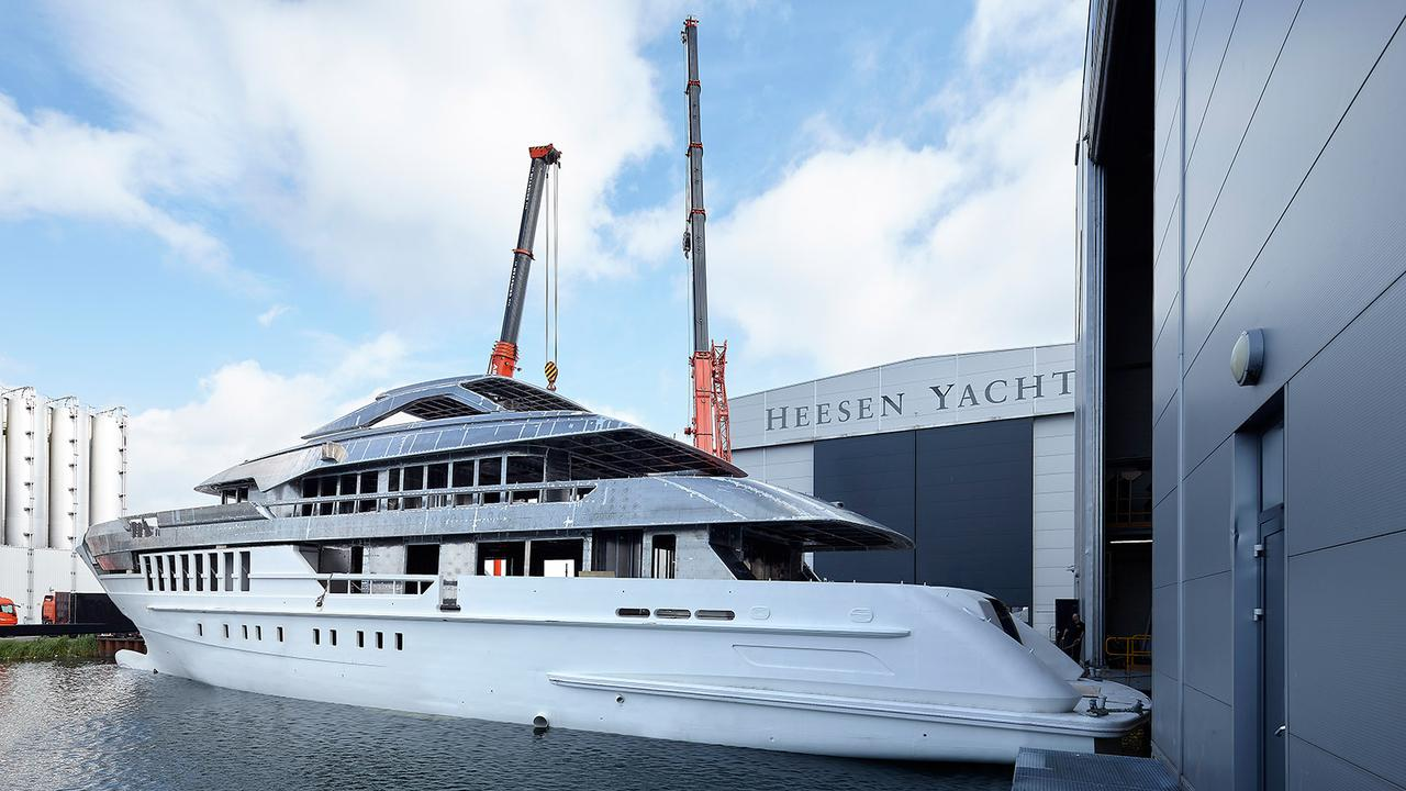 Heesen 55m Project Antares Launched Boat International