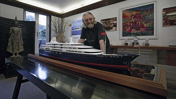 Yacht Designer Terence Disdale Boat International