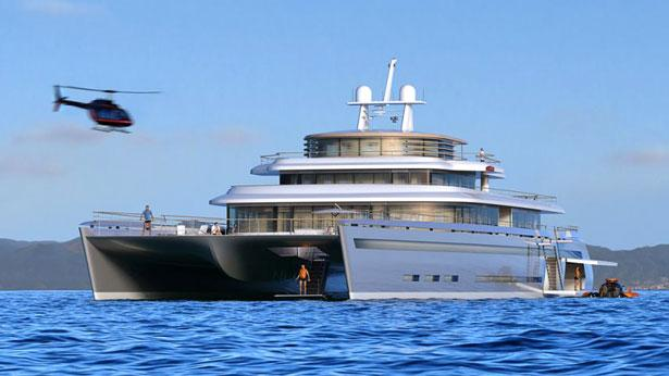New 71m Catamaran Superyacht Concept Manifesto By VPLP