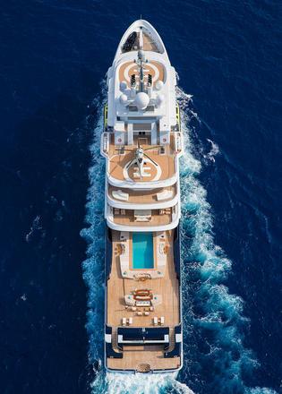 Landing Luna The Story Of The 115m Explorer Yachts 50m