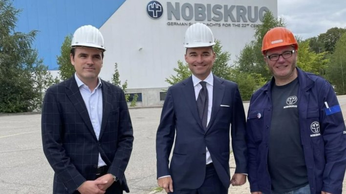 Nobiskrug 120m refit project