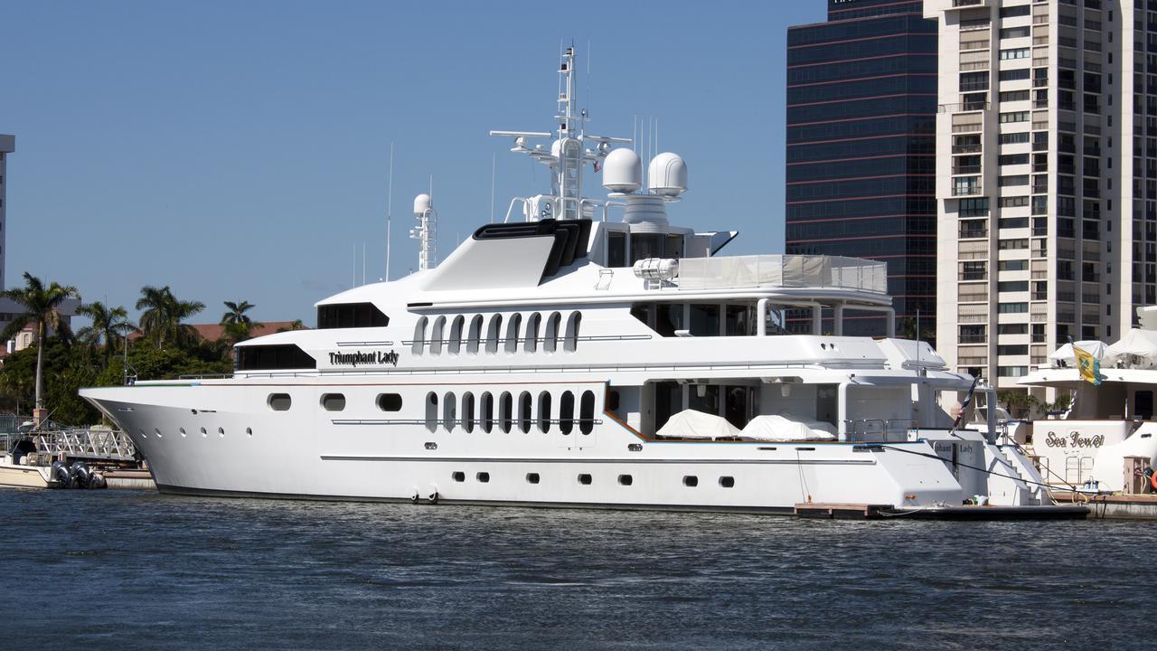 TRIUMPHANT LADY Yacht Was BENGAL NO1 Boat International