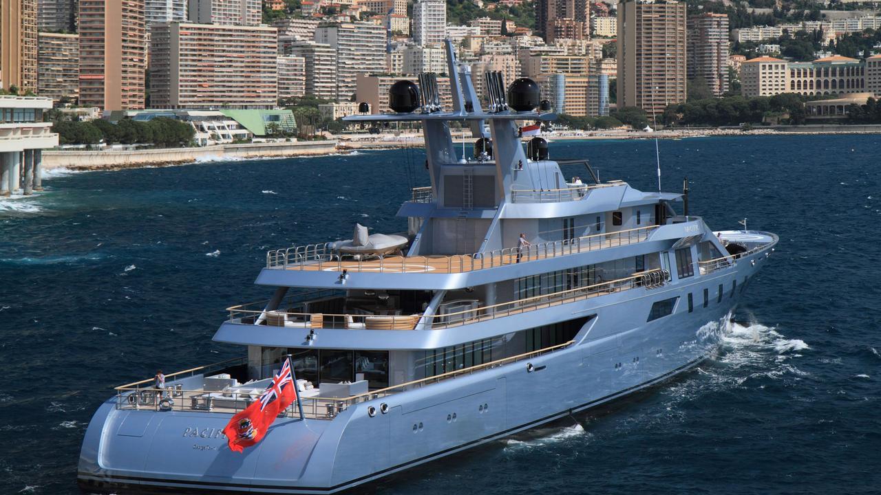 PACIFIC Yacht Lurssen Boat International