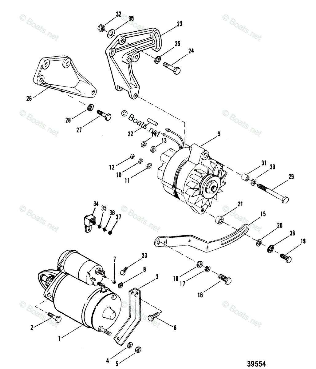 Mercury Mercruiser Sterndrive Parts By Year Mercruiser Oem